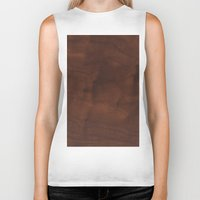 wood Biker Tanks featuring Wood by Adoryanti