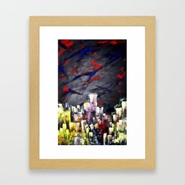 HighTopCity Framed Art Print