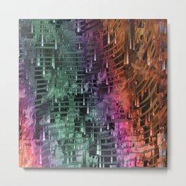 Spatial Factor 101 / Texture 30-10-16 Metal Print