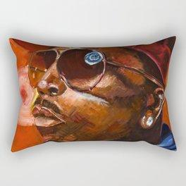 Big Boi Rectangular Pillow