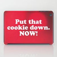 cookie iPad Cases featuring cookie by MelleNora
