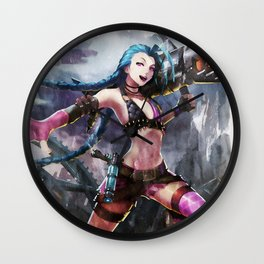 League of Legends JINX Wall Clock