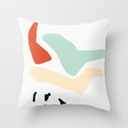 Matisse Shapes 5 Throw Pillow