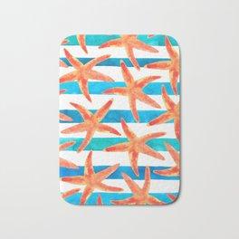 Starfish Tropics Bath Mat