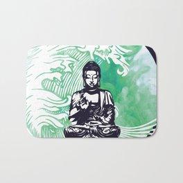 Buddha Typhoon Emerald Smoke Bath Mat