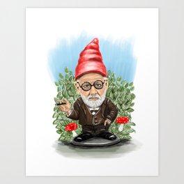 Freudgnology Art Print