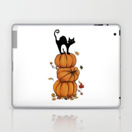 Helloween cat Laptop & iPad Skin