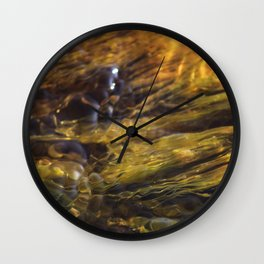 Rock Snot Wall Clock