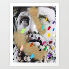 Composition 553 Art Print