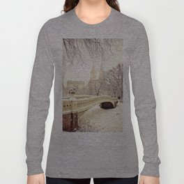 New York City Snow Wonderland Long Sleeve T-shirt