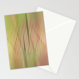 Trendy abstract pattern in pastels Stationery Cards