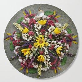 Nature Mandala: May Cutting Board