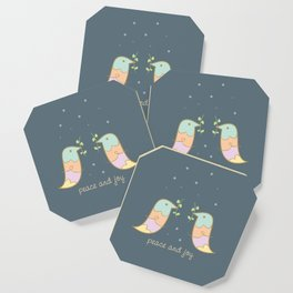 Peace and Joy Coaster
