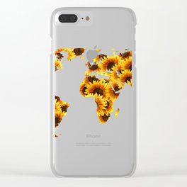 Map III Clear iPhone Case