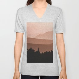 Lost in the Smoky Mountains Unisex V-Neck