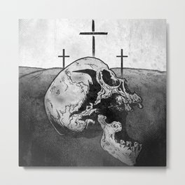 Golgotha Metal Print