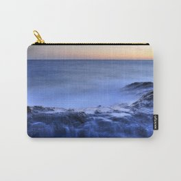 Blue seaside Carry-All Pouch