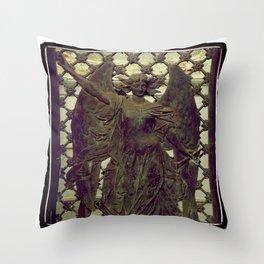 ColnaCrypt1 Throw Pillow