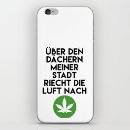 PALMEN AUS PLASTIK - Marihuana 187 Lyrics iPhone Skin