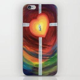 Jesus Hug iPhone Skin