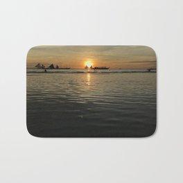 Boracay Sunset Twin Sails Bath Mat