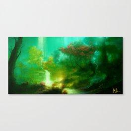 Shadowglen Canvas Print