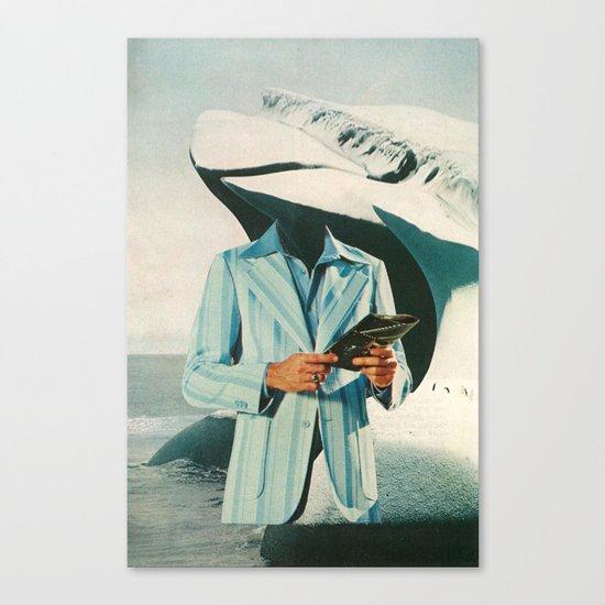 crisp, cool sophistication Canvas Print