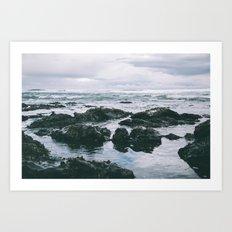 Oregon Coast XI Art Print