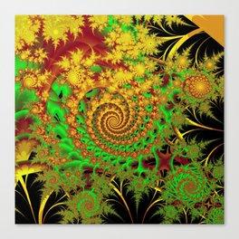 Swirls and Spirals Canvas Print