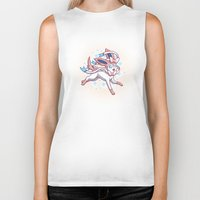 sylveon Biker Tanks featuring Sylveon  by Lara Frizzell
