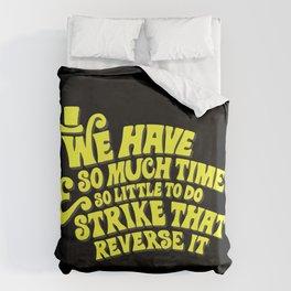Strike That... Reverse It Duvet Cover