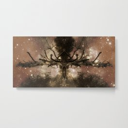 Antlers From Space Metal Print