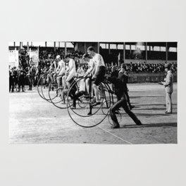 Bicycle race Rug