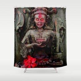 Hindu Kali 14 Shower Curtain