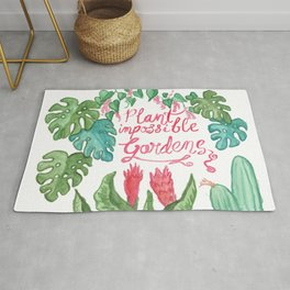 Plant Impossible Gardens Rug