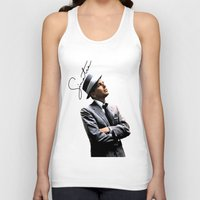 frank sinatra Tank Tops featuring Frank Sinatra by BAS~