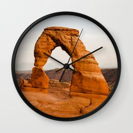 Delicate Arch - Arches National Park Wall Clock