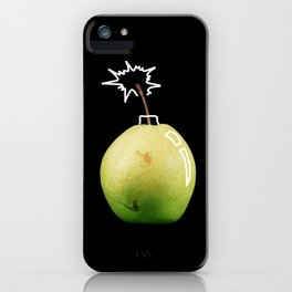 Pear Bomb iPhone Case