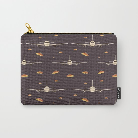 Take Off (Pattern) Carry-All Pouch