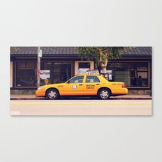Yellow Cab Co ∫ Living Los Angeles Canvas Print