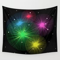 carnival Wall Tapestries featuring Carnival by Alexander Studio