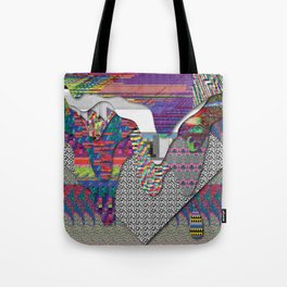 drippy internet Tote Bag