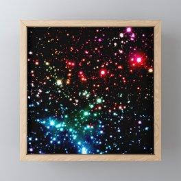Rainbow galaxY Framed Mini Art Print