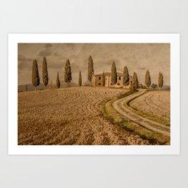Tuscany - Study 56 Art Print
