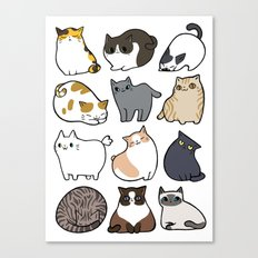 Cats Cats Cats Canvas Print