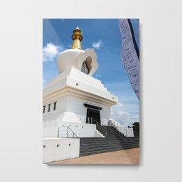 Buddhist Temple Metal Print
