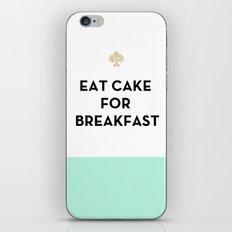 Eat Cake for Breakfast - Kate Spade Inspired iPhone & iPod Skin