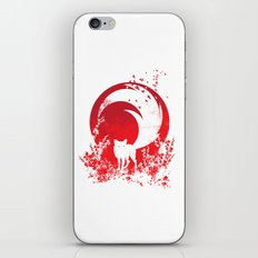Red Tail iPhone & iPod Skin