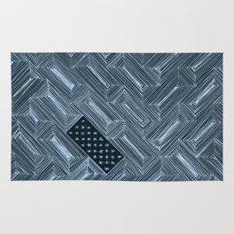 Optical Illusion - Diagonal Lines - Inversed Rug