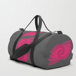 hypnotized - fluid geometrical eye shape Duffle Bag